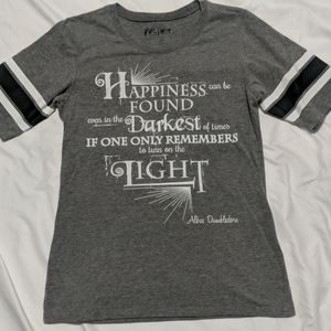 Harry Potter Albus Dumbledore Quote Fitted Shirt